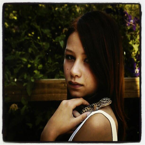 Julina 13 år